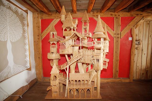 Дом на дереве макет