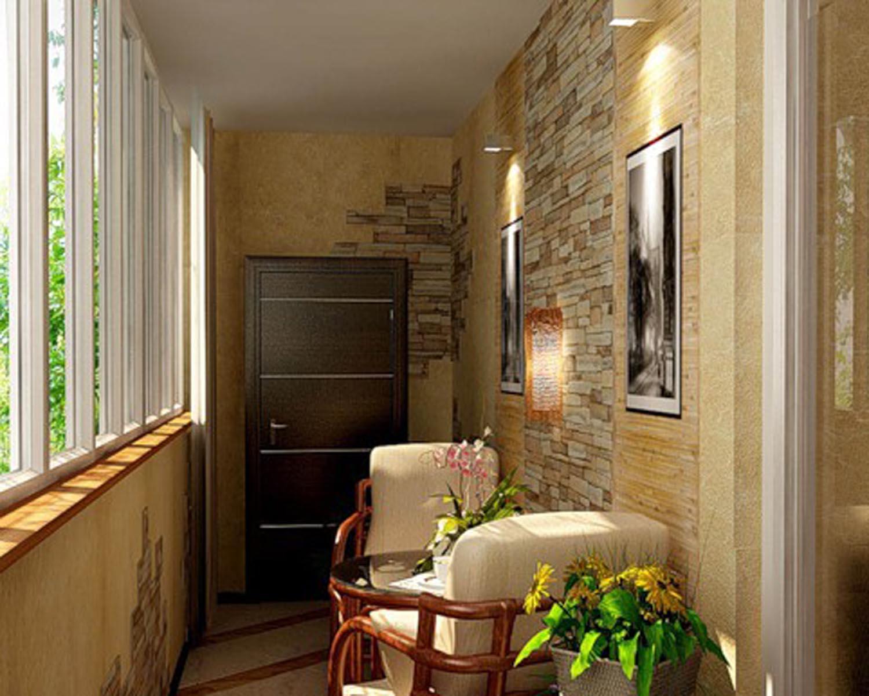 Дизайн лоджии в квартире.